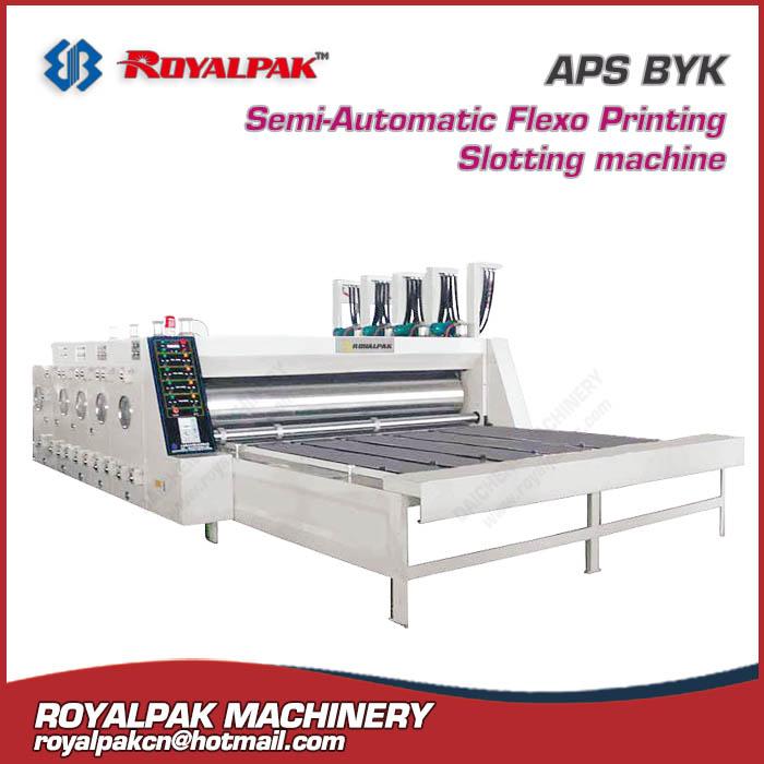 APS-BYK flexo printing slotter die cutter