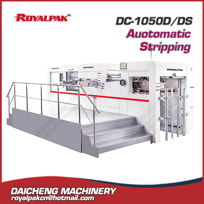 DC-1050D-1050DS Automatic deep embossing die cutting machine
