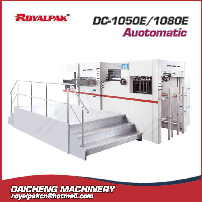 DC-1050E-1080E Automatic die cutting machine