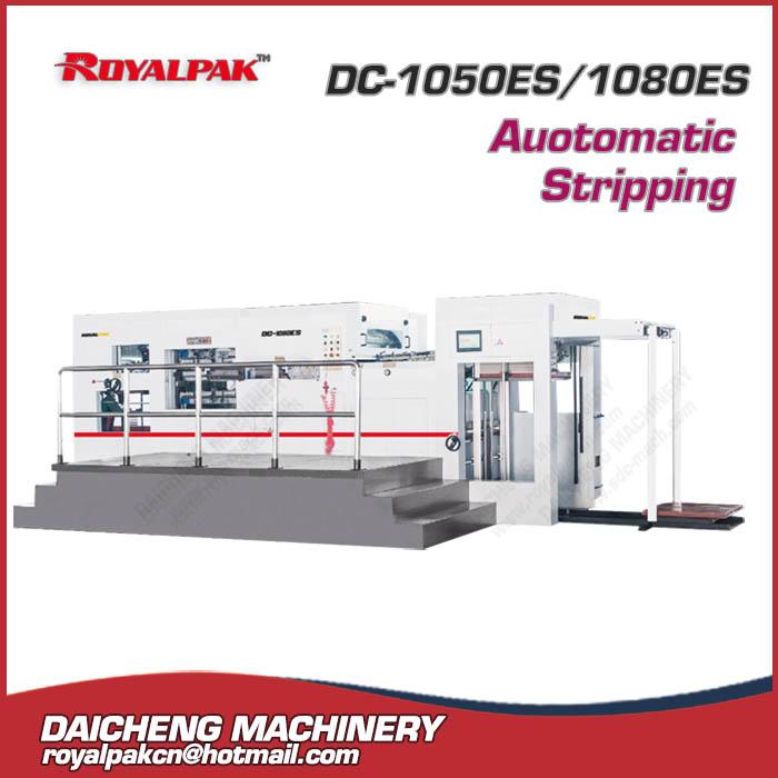 DC-1050ES-1080ES Automatic die cutting stripping machine