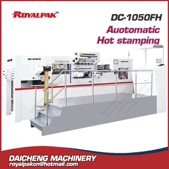DC-1050FH Automatic hot stamping die cutting machine