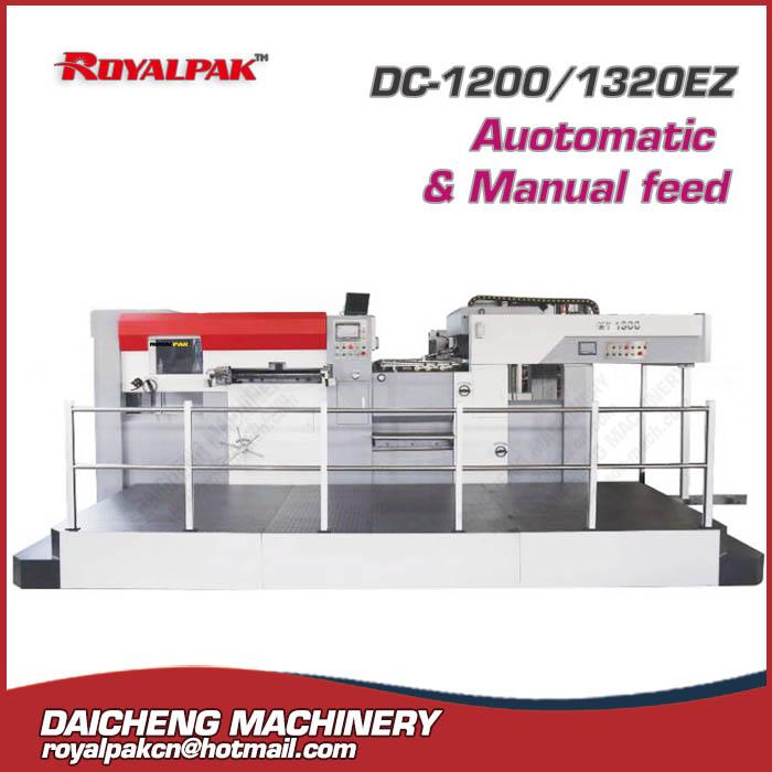 DC-1200EZ-1320EZ Automatic&Manual die cutting machine