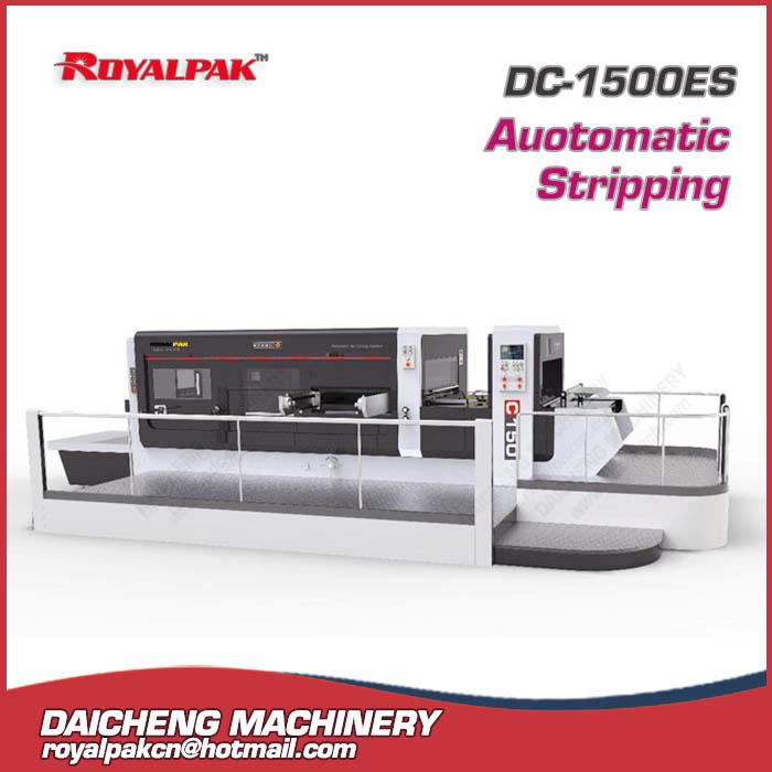 DC-1500ES Automatic die cutting stripping machine