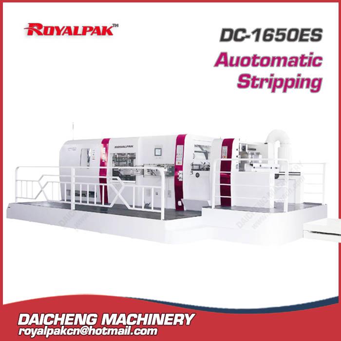 DC-1650ES Automatic die cutting stripping machine