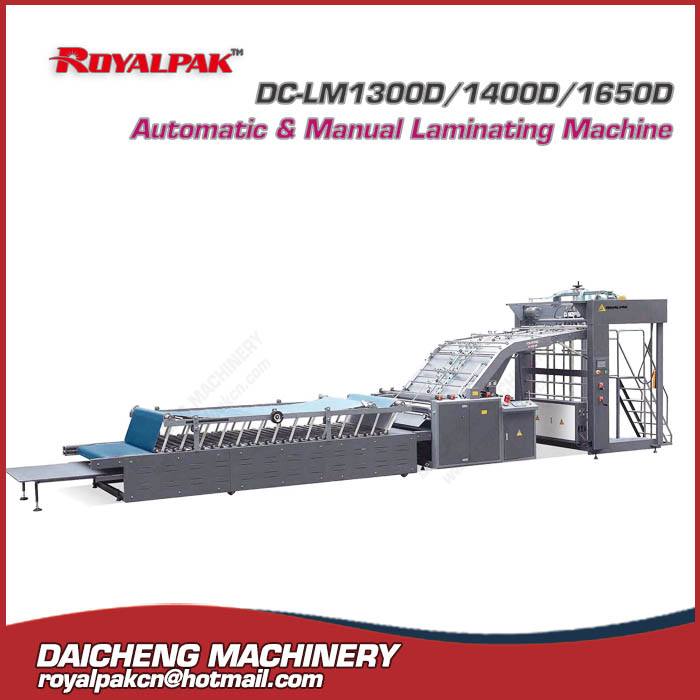 DC-LM1300D Automatic & Manual Laminating Machine