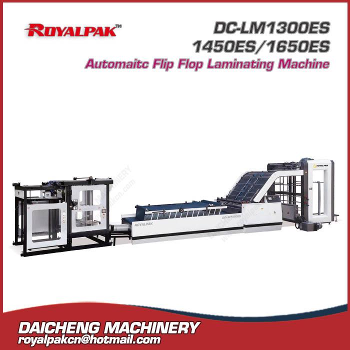 DC-LM1300ES-1450ES-1650ES Automatic flip Flop Laminating Machine