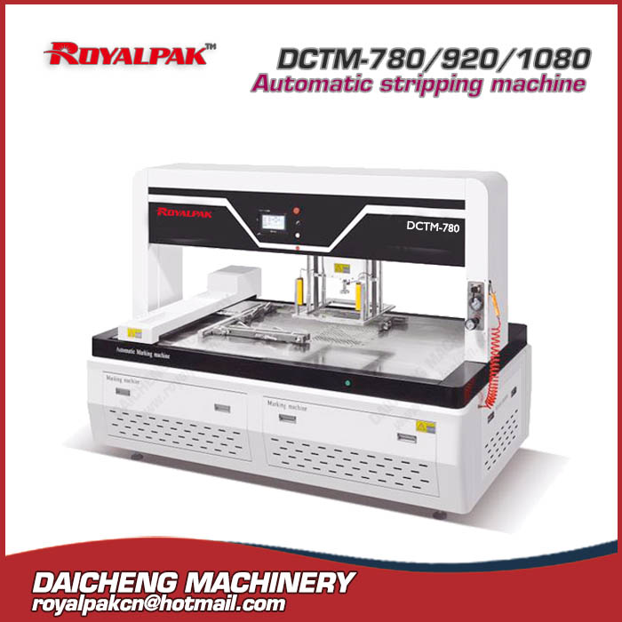 DCTM-780-920-1080 Automatic stripping machine
