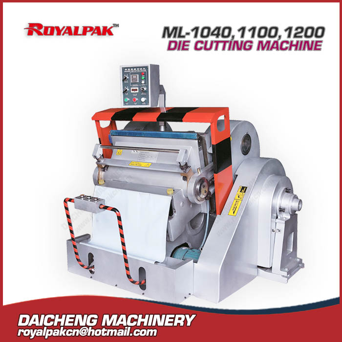 ML-1040,1100,1200 Manual die cutting machine