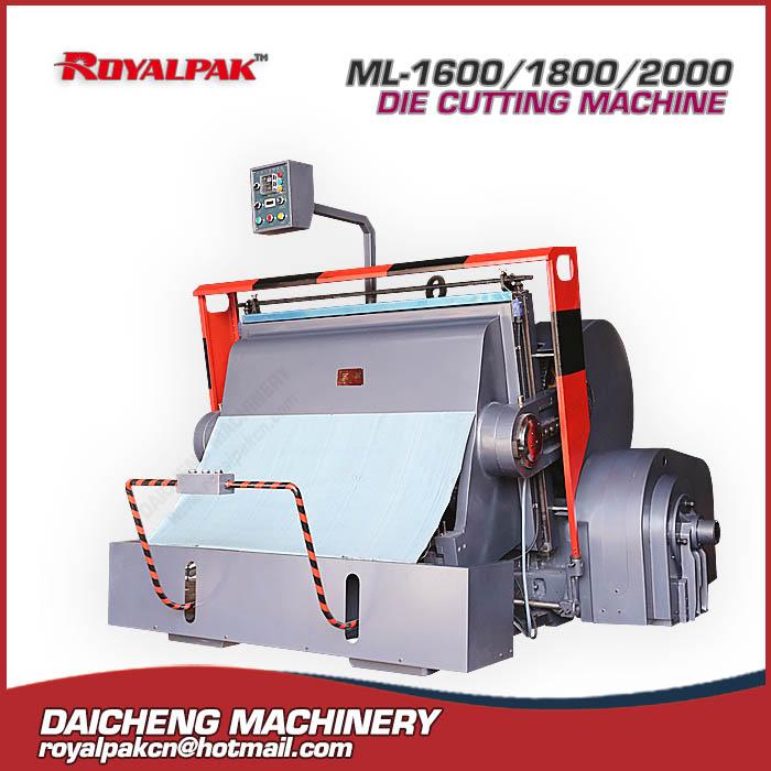 ML-1600,1800,2000 Manual die cutting machine