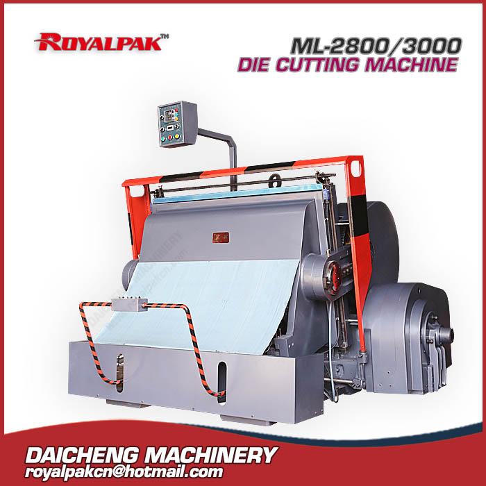 ML-2800,3000 Manual die cutting machine