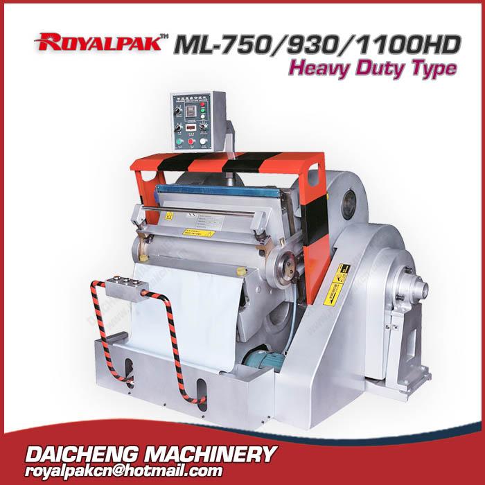 ML-750-930-1100hd Manual die cutting machine