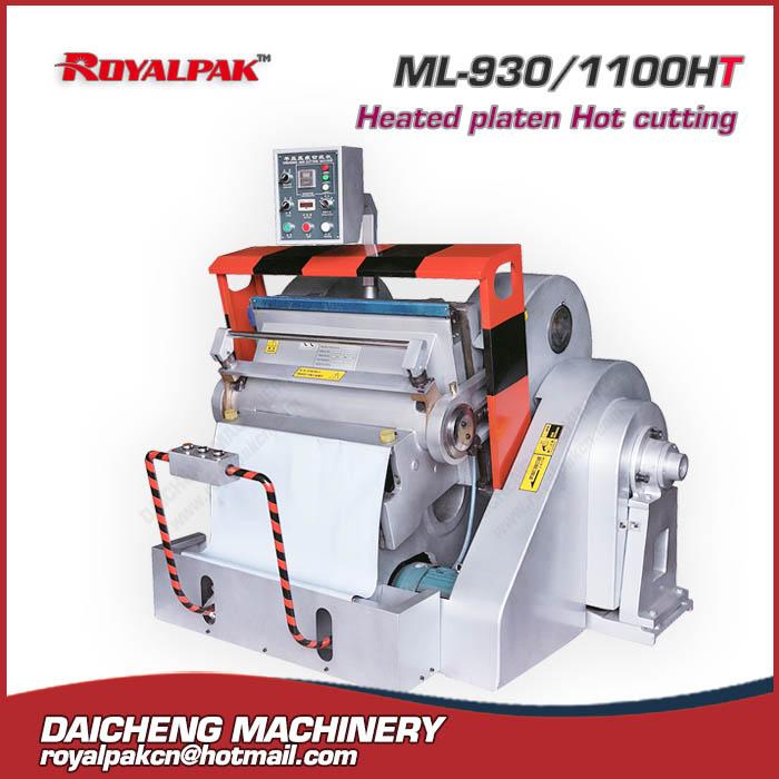 ML-930-1100ht Manual die cutting machine
