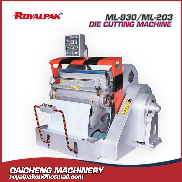ML-930-203 Manual die cutting machine